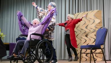 Photo of Seniorentheater De Rimpel: Een mens is nooit te oud om te spelen!